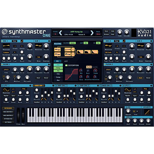 KV331 Audio SynthMaster One Crossgrade from SynthMaster thumbnail