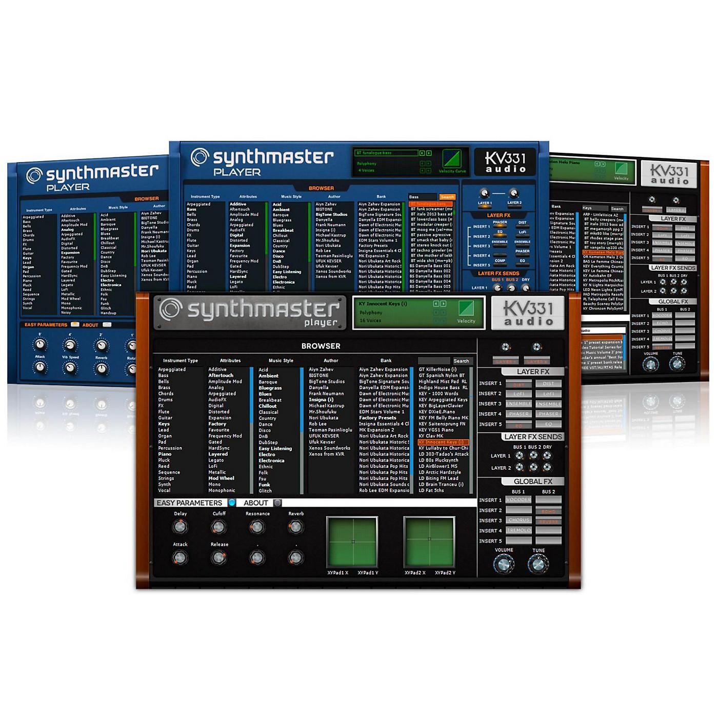 KV331 Audio SynthMaster Player Software Download thumbnail