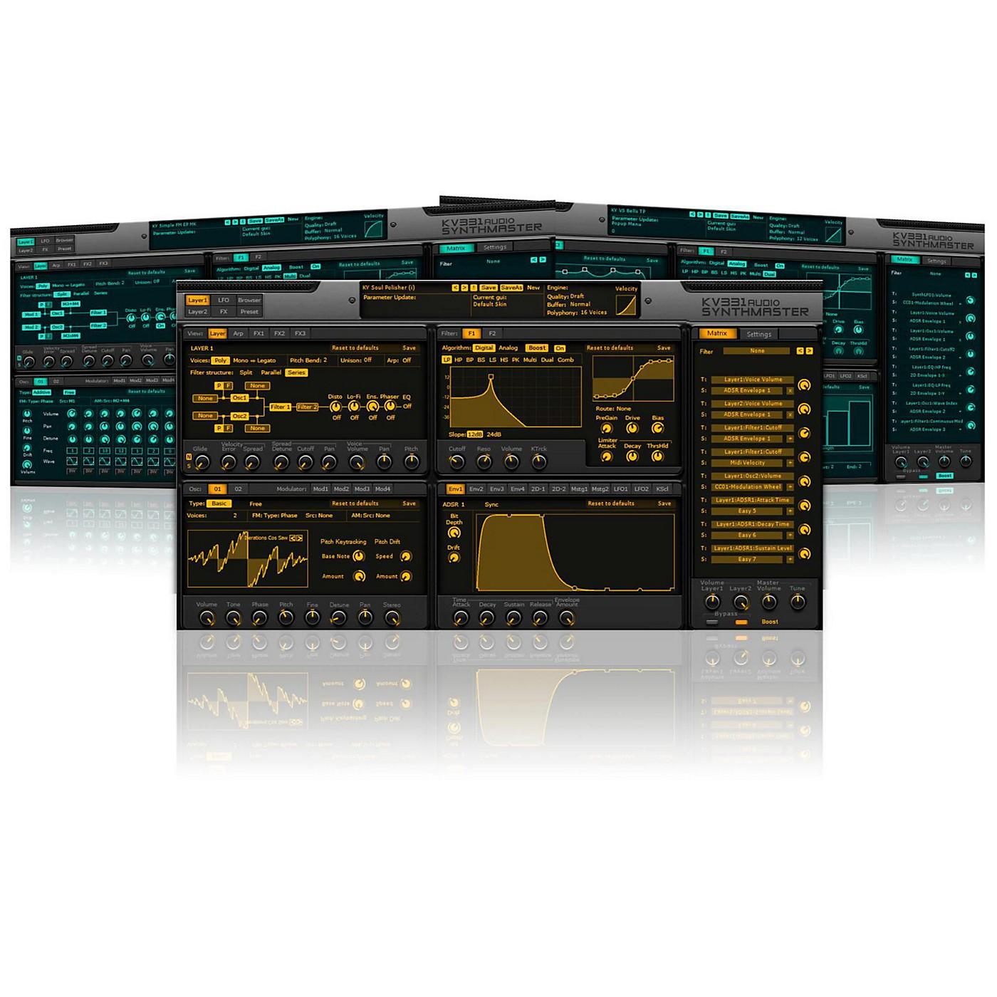 KV331 Audio SynthMaster Software Download thumbnail