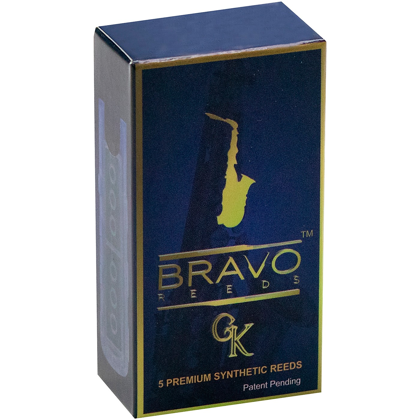 Bravo Reeds Synthetic Alto Saxophone Reed 5 Pack thumbnail