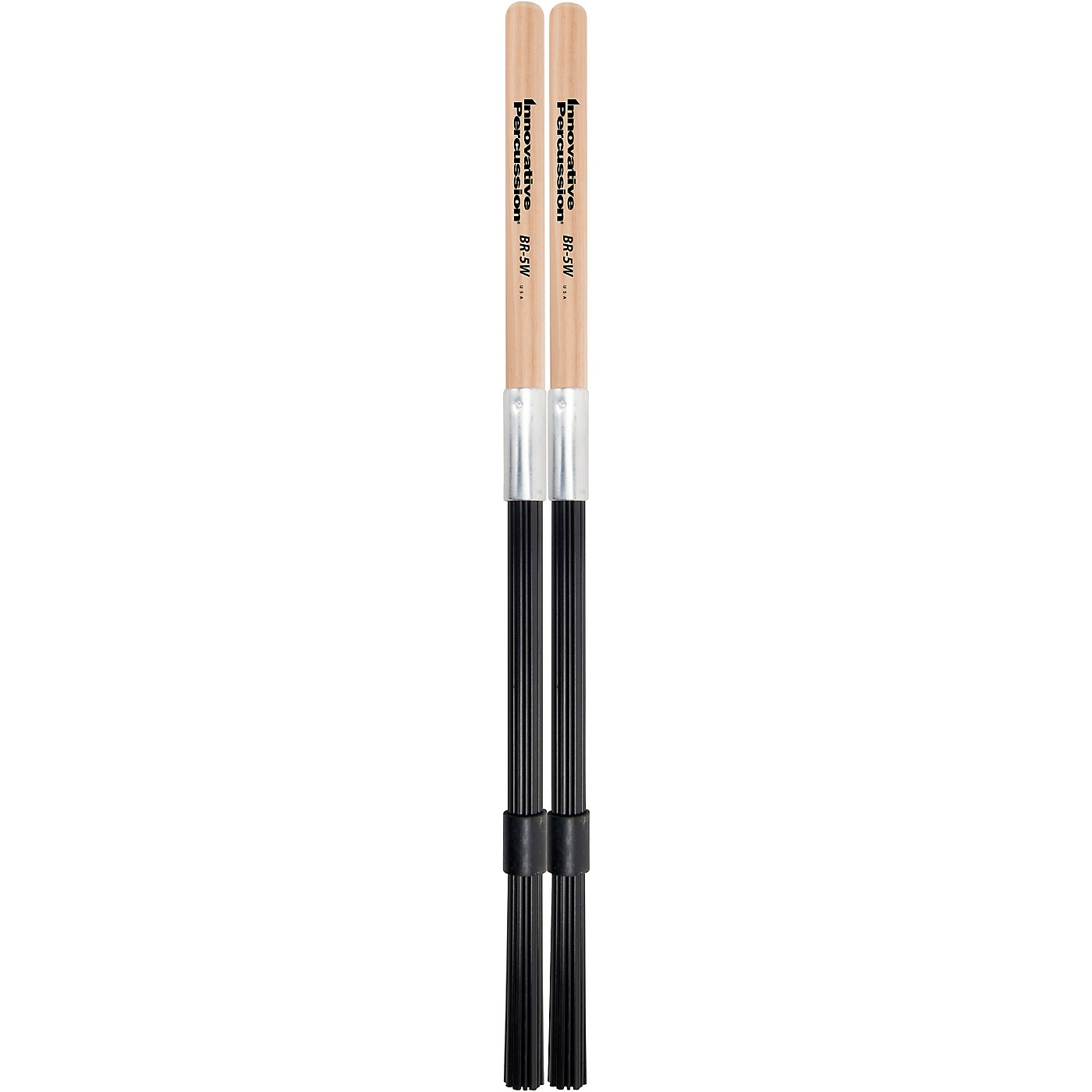 Innovative Percussion Synthetic Bundle Rods with Wood Handle thumbnail