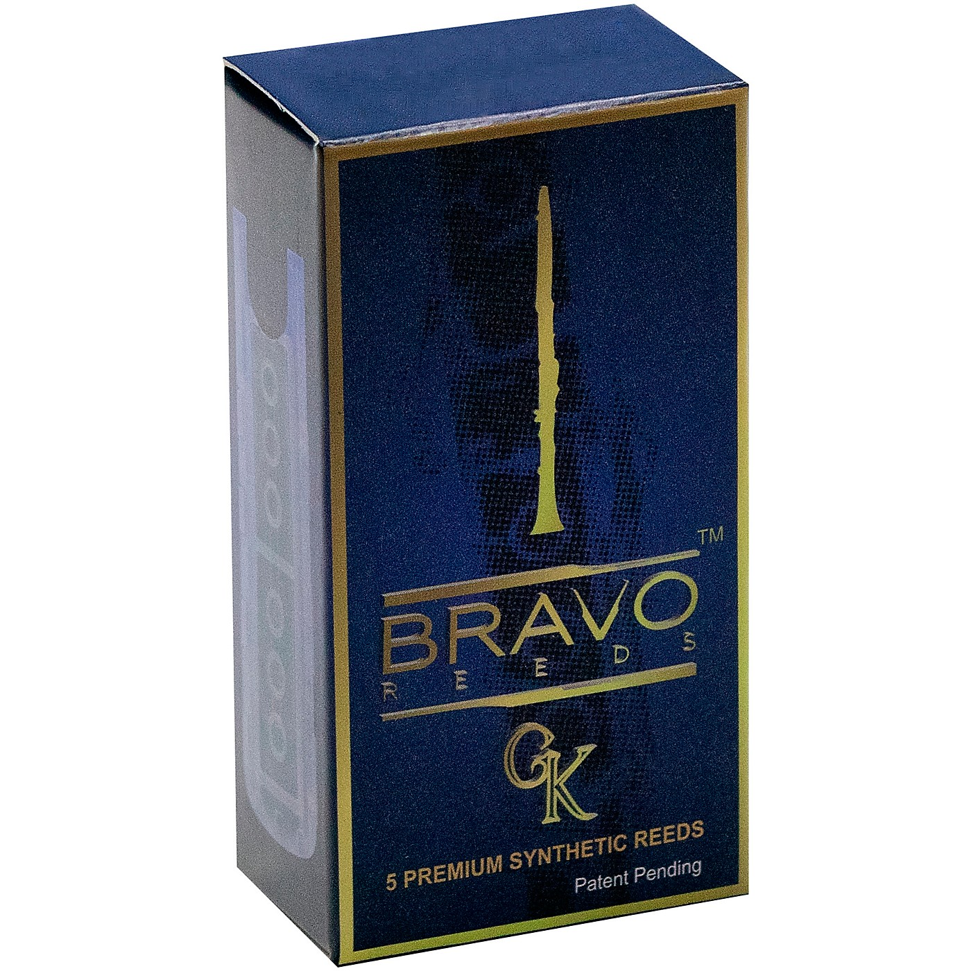 Bravo Reeds Synthetic Clarinet Reed 5 Pack thumbnail