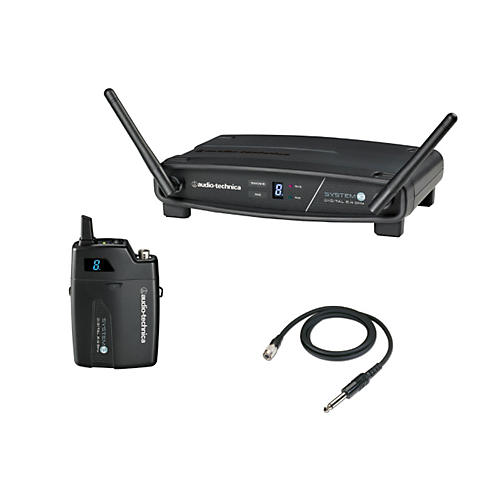 Audio-Technica System 10 2.4GHz Digital Wireless Instrument System w/ Guitar Cable-thumbnail