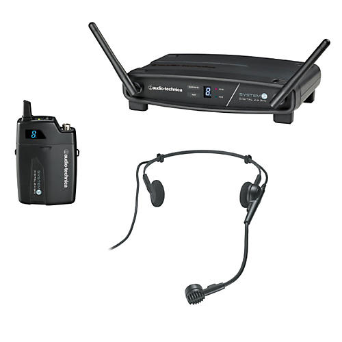 Audio-Technica System 10 ATW-1101/H 2.4GHz Digital Wireless Headset System thumbnail