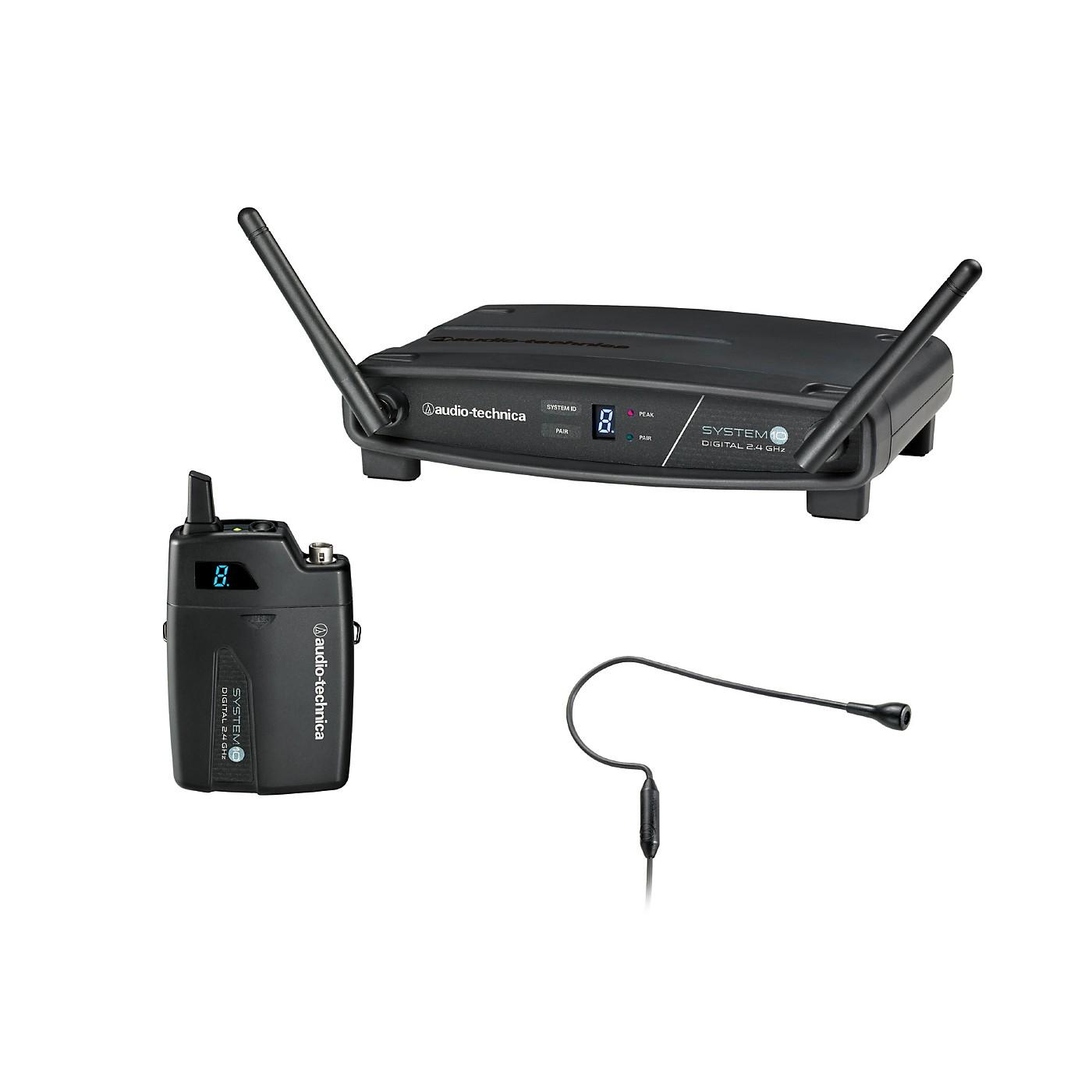 Audio-Technica System 10 ATW-1101/H92 2.4GHz Digital Wireless Earworn Headset System thumbnail