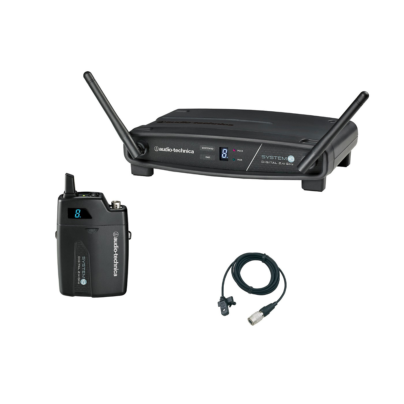 Audio-Technica System 10 ATW-1101/H92-TH 2.4GHz Digital Wireless Lavalier System thumbnail