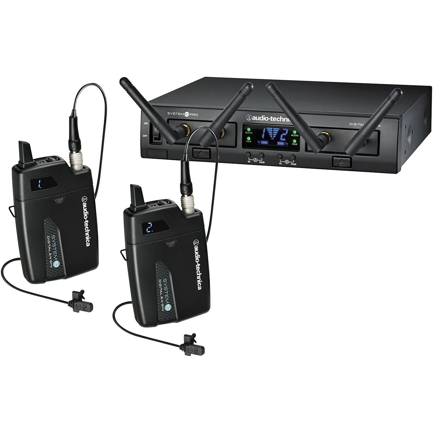 Audio-Technica System 10 Pro ATW-1311/L Dual Lavalier System thumbnail