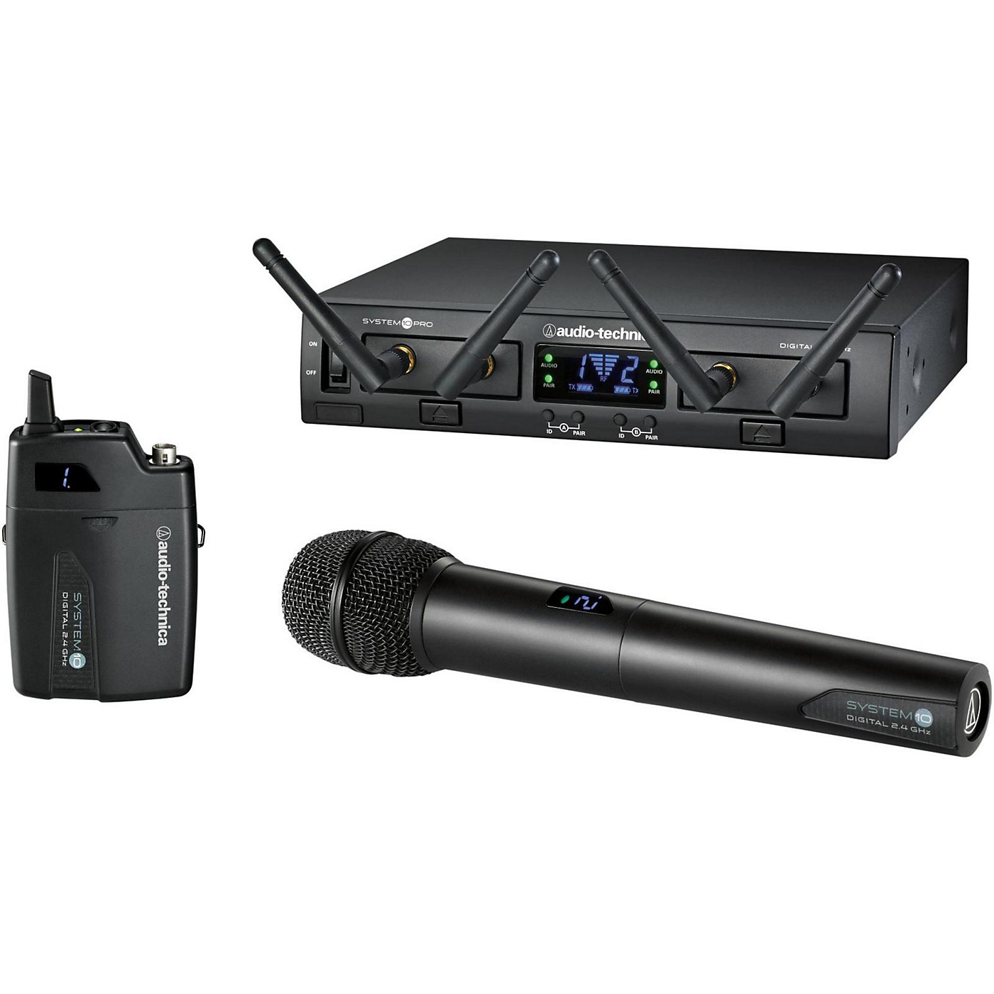 Audio-Technica System 10 Pro ATW-1312 Body-Pack / Handheld System thumbnail