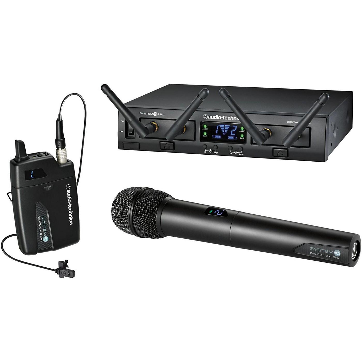 Audio-Technica System 10 Pro ATW-1312/L Lavalier / Handheld System thumbnail