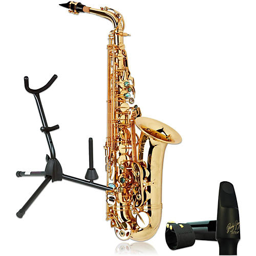P. Mauriat System-76AGL Professional Gold Lacquered Alto Saxophone Kit thumbnail
