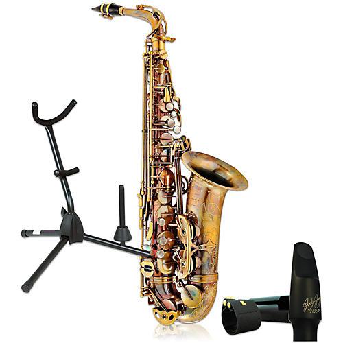 P. Mauriat System-76AUL Professional Un-Lacquered Alto Saxophone Kit thumbnail