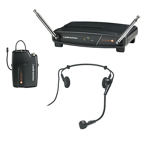 Audio-Technica System 8 Wireless System includes: PRO 8HEcW headworn microphone thumbnail