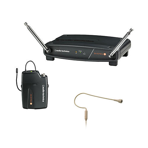 Audio-Technica System 8 Wireless System includes: PRO 92cW-TH headworn microphone thumbnail