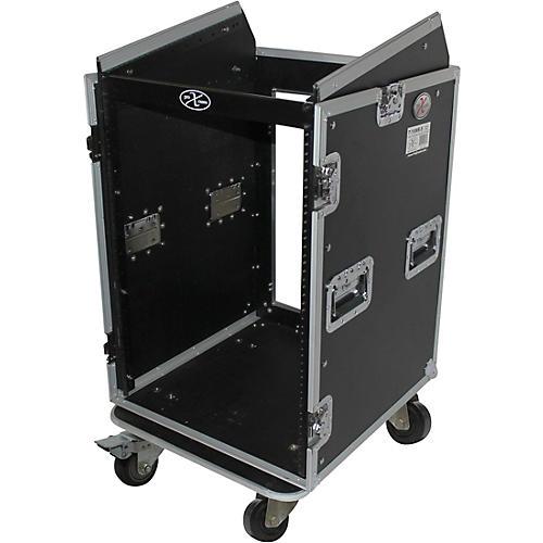 ProX T-16MRSS 16U Rack x 10U Top Mixer DJ Combo Flight Case thumbnail