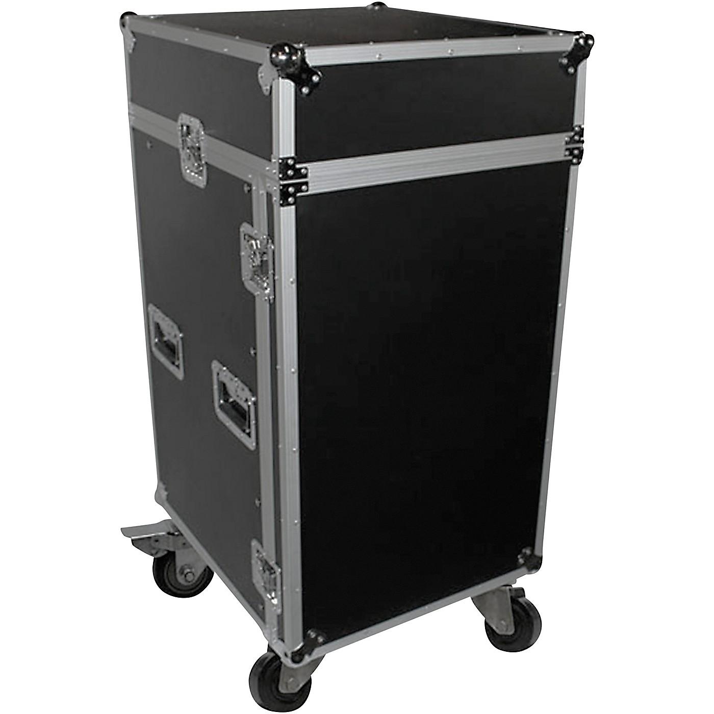 ProX T-18MRSS 18U Rack x 10U Top Mixer DJ Combo ATA Flight Case thumbnail