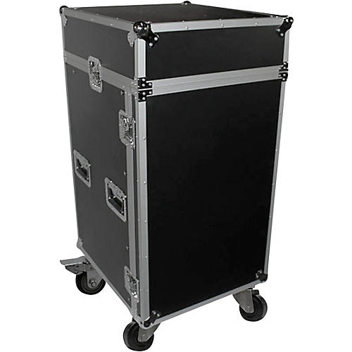 ProX T-18MRSS 18U Rack x 10U Top Mixer DJ Combo ATA Flight Case thumbnail