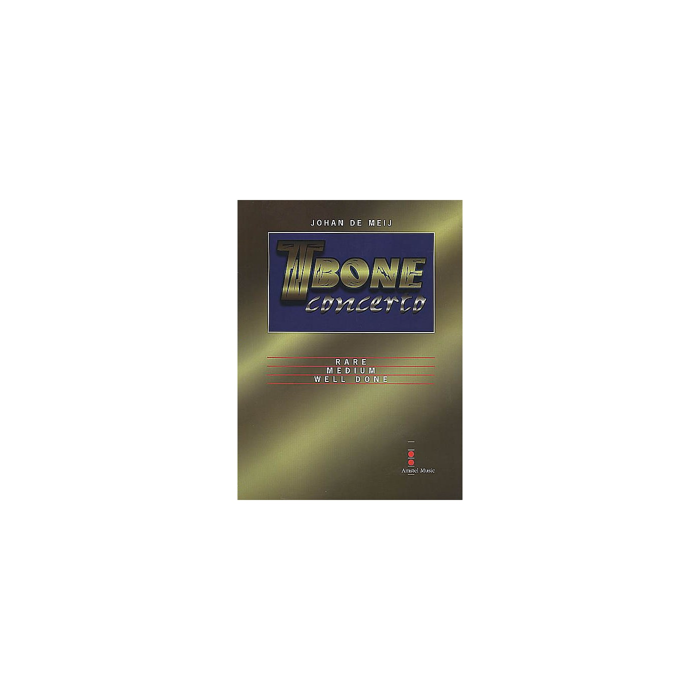Amstel Music T-Bone Concerto (Solo Part Only) Concert Band Level 5-6 Composed by Johan de Meij thumbnail