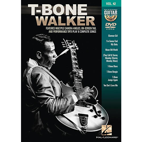 Hal Leonard T-Bone Walker - Guitar Play-Along DVD Volume 42 thumbnail