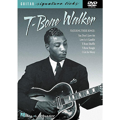 Hal Leonard T-Bone Walker Signature Licks (DVD)-thumbnail
