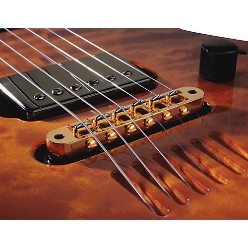 LR Baggs T-Bridge Acoustic Tune-O-Matic Bridge Pickup Gold thumbnail