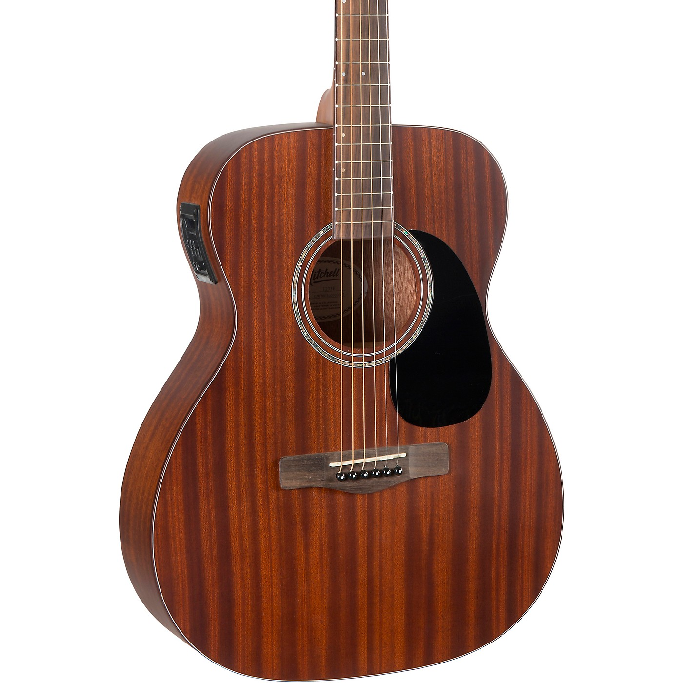 Mitchell T233E Mahogany Auditorium Acoustic-Electric Guitar thumbnail