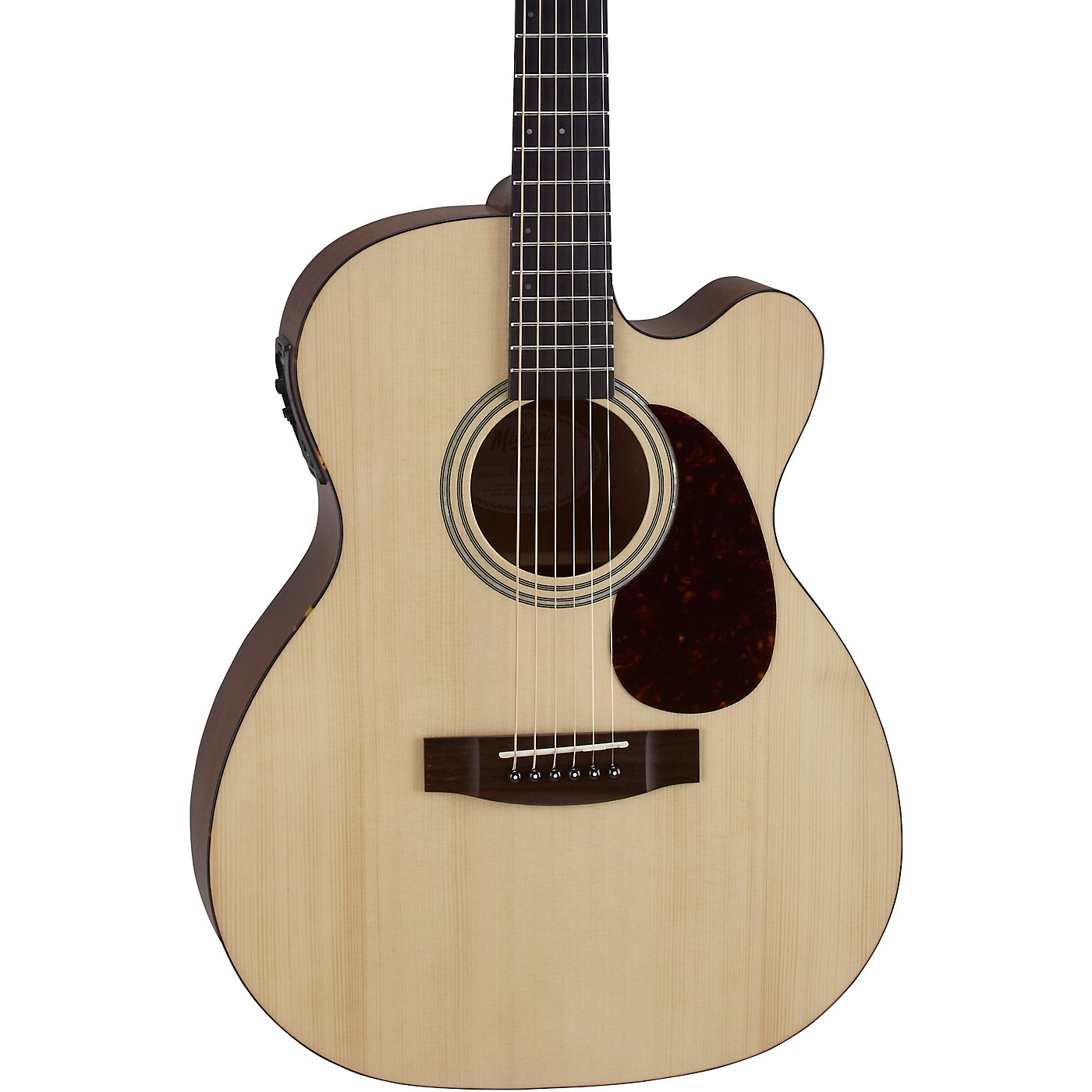 Mitchell T313CE Solid Spruce Top Auditorium Acoustic-Electric Guitar thumbnail