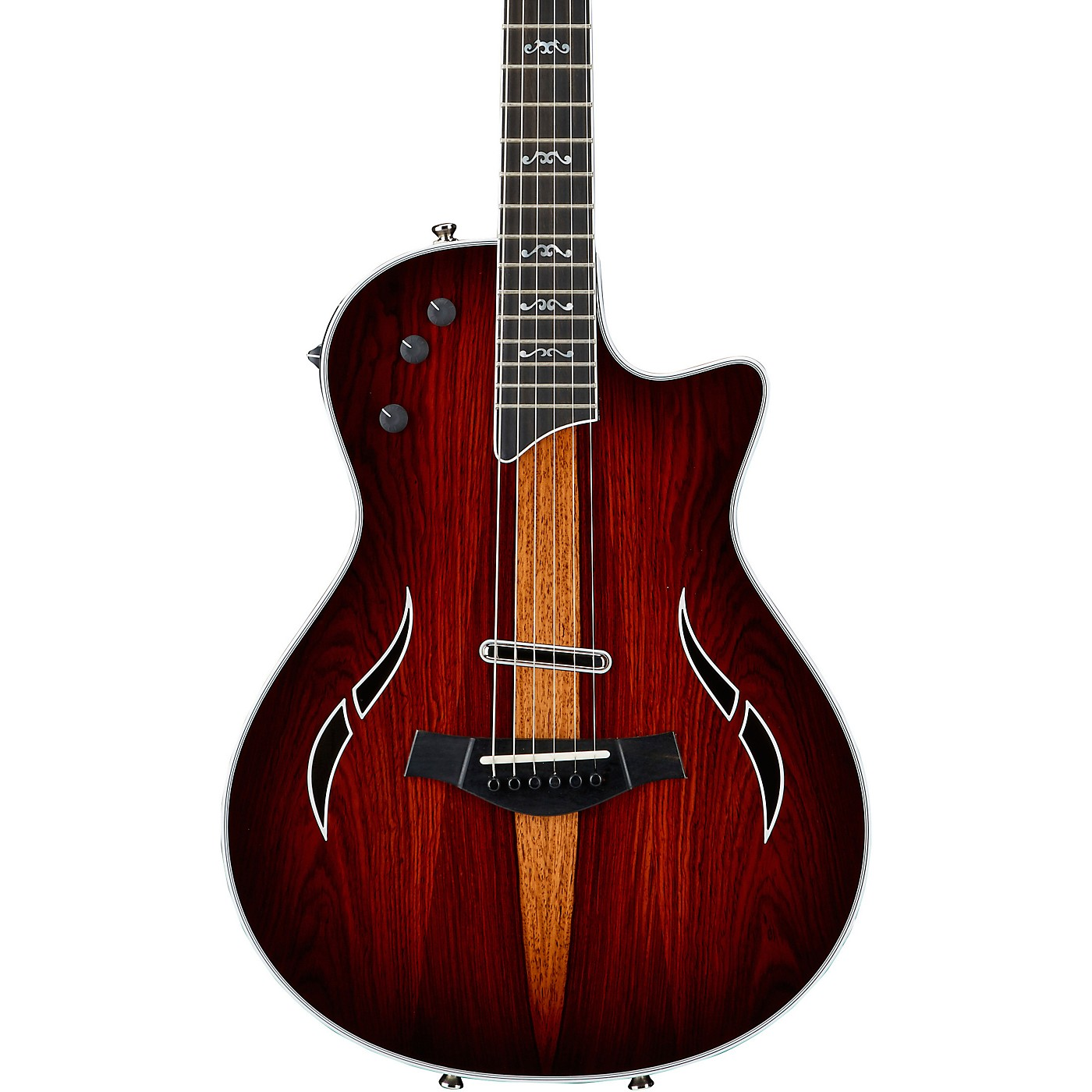 Taylor T5z Custom Cocobolo Acoustic-Electric Guitar Nickel Hardware thumbnail
