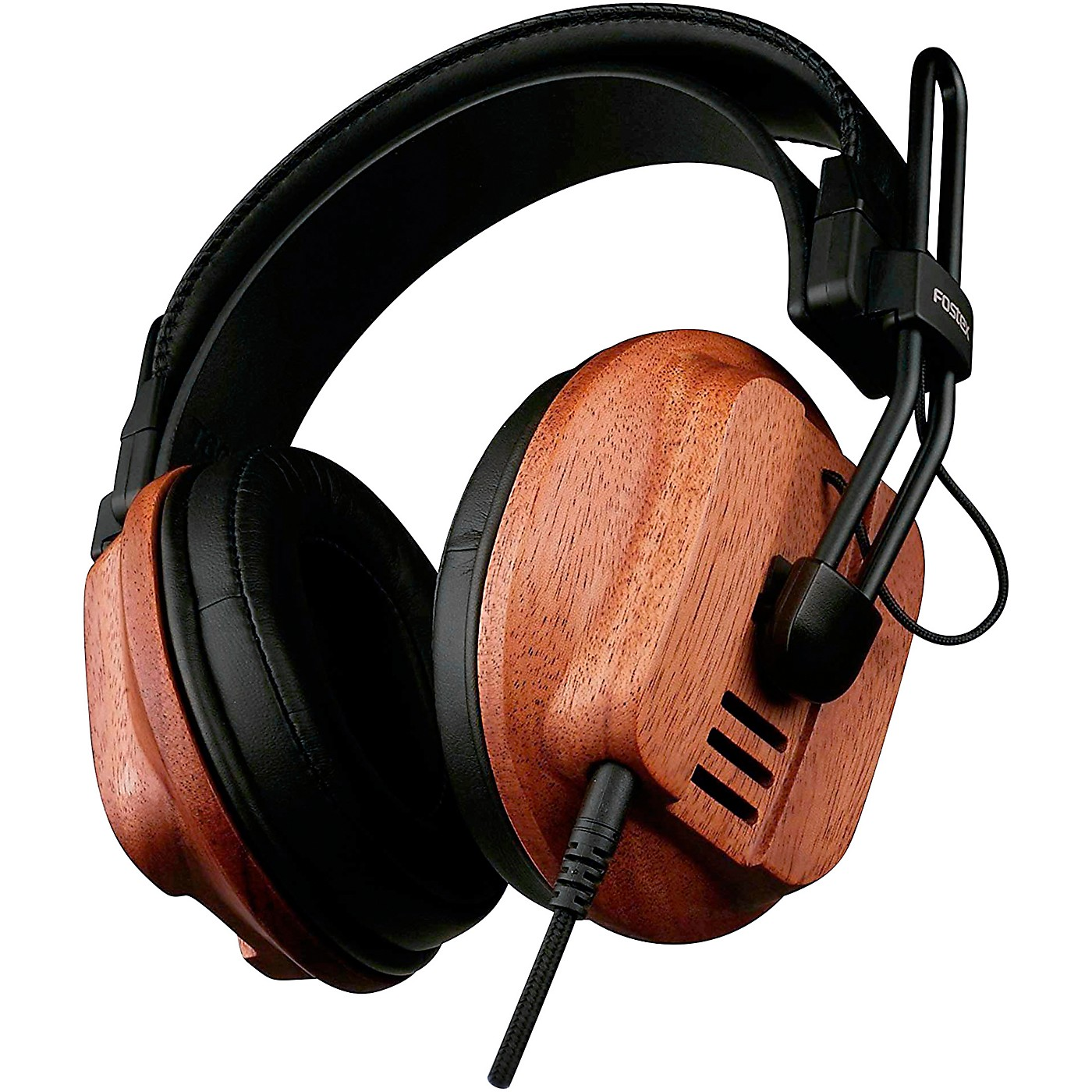 Fostex T60 RP Premium Mahogany Semi-Open Headphones thumbnail