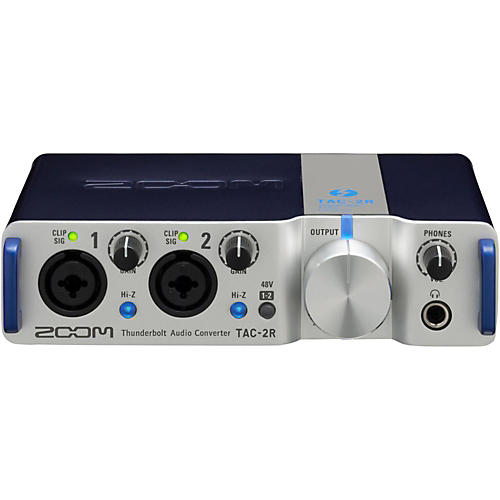 Zoom TAC-2R Two Channel Thunderbolt Interface thumbnail
