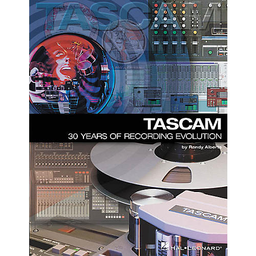 Hal Leonard TASCAM 30 Years Of Recording Evolution Book thumbnail