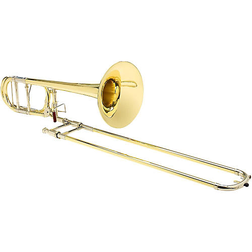 S.E. SHIRES TBQ30R Q-Series Professional F-Attachment Trombone Lacquer Yellow Brass Bell thumbnail