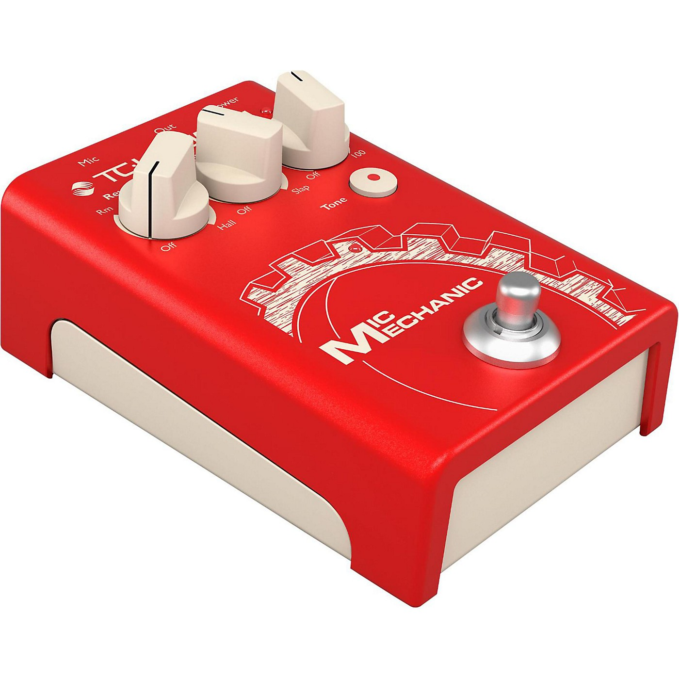 TC Helicon TC Helicon VoiceTone Mic Mechanic 2 Reverb, Delay, & Pitch Correction Pedal thumbnail