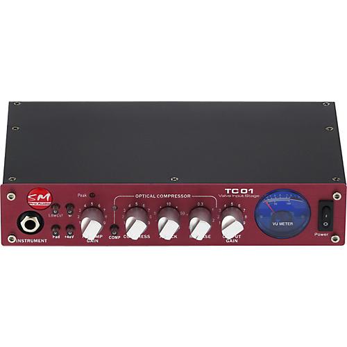SM Pro Audio TC01 Single Channel Tube Preamp-thumbnail