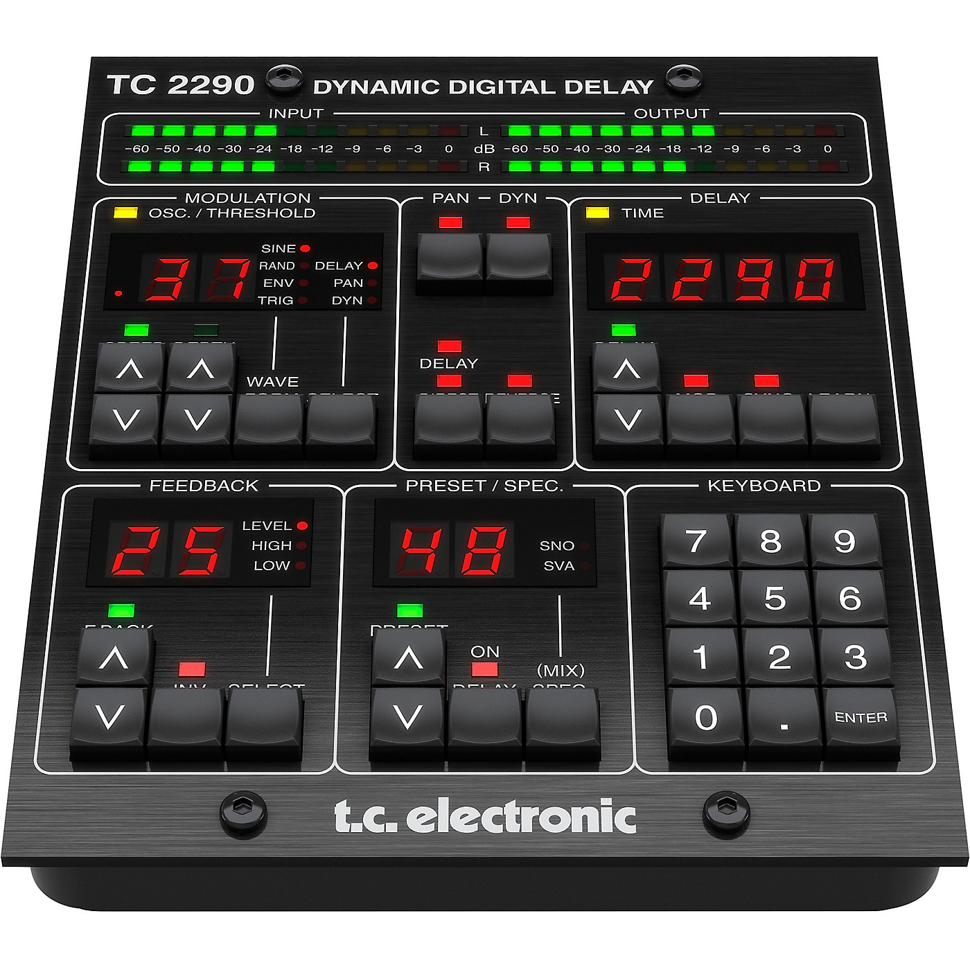 TC Electronic TC2290-DT Dynamic Delay Plug-in with Dedicated Hardware Interface thumbnail