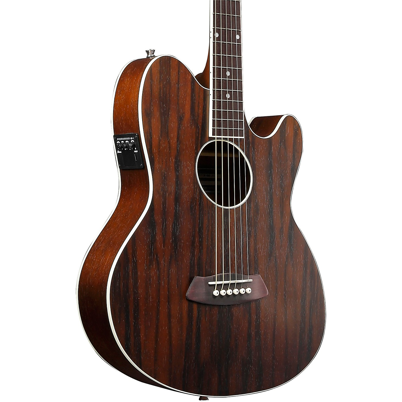 Ibanez TCY13E Talman Acoustic-Electric Guitar With Macassar Ebony Top thumbnail