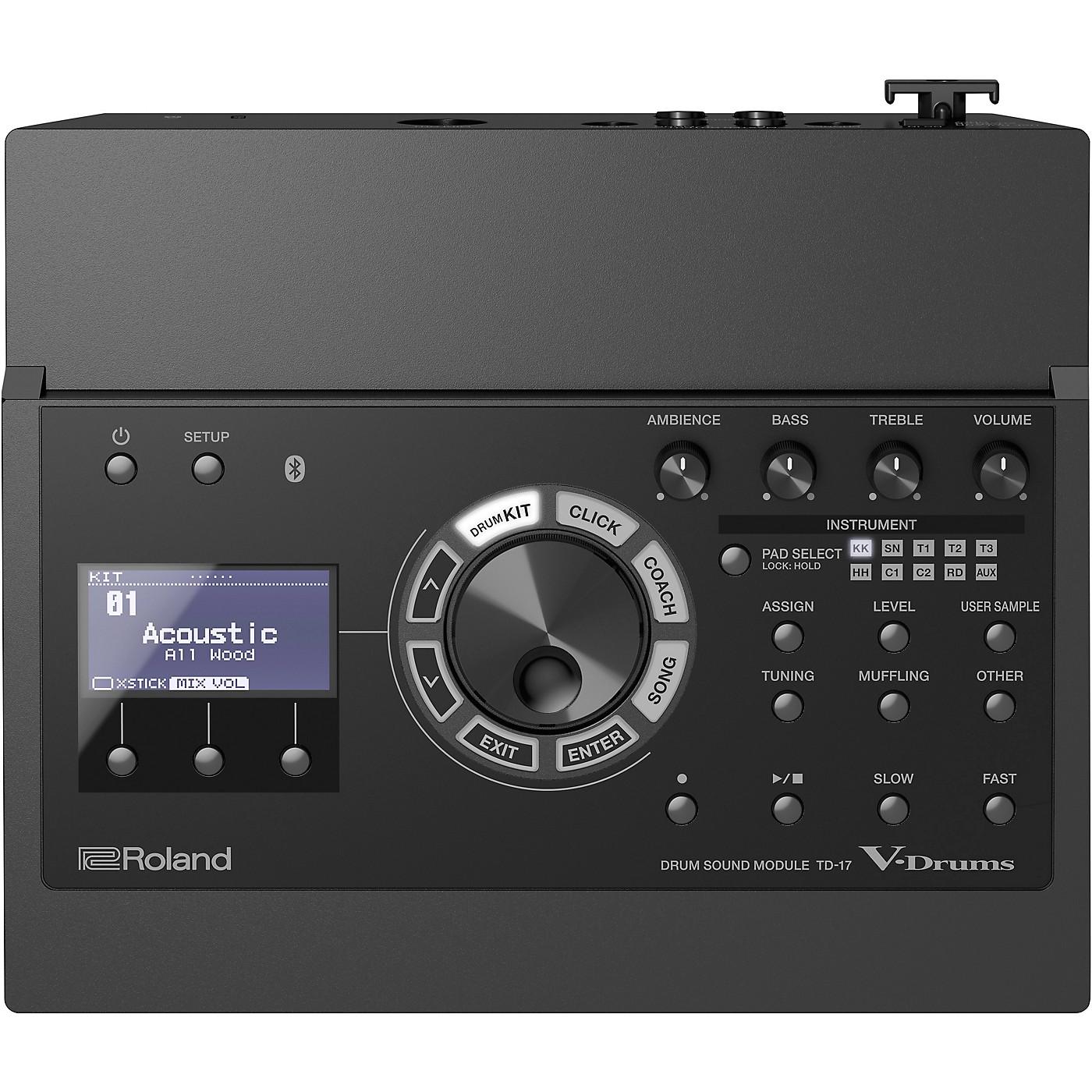 Roland TD-17 Drum Sound Module thumbnail