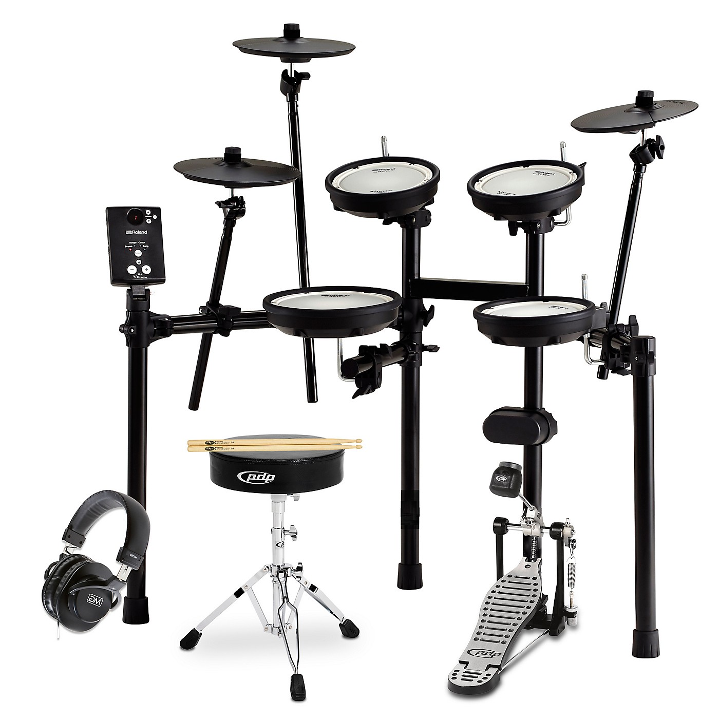 Roland TD-1DMK Electronic Drum Set Starter Bundle thumbnail