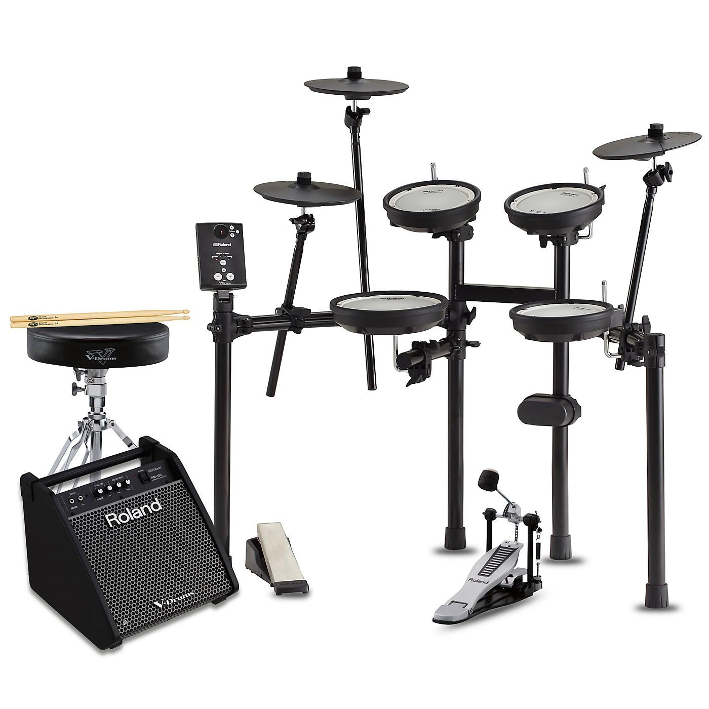 Roland TD-1DMK Electronic Drum Set with PM100 Speaker System Premium Bundle thumbnail