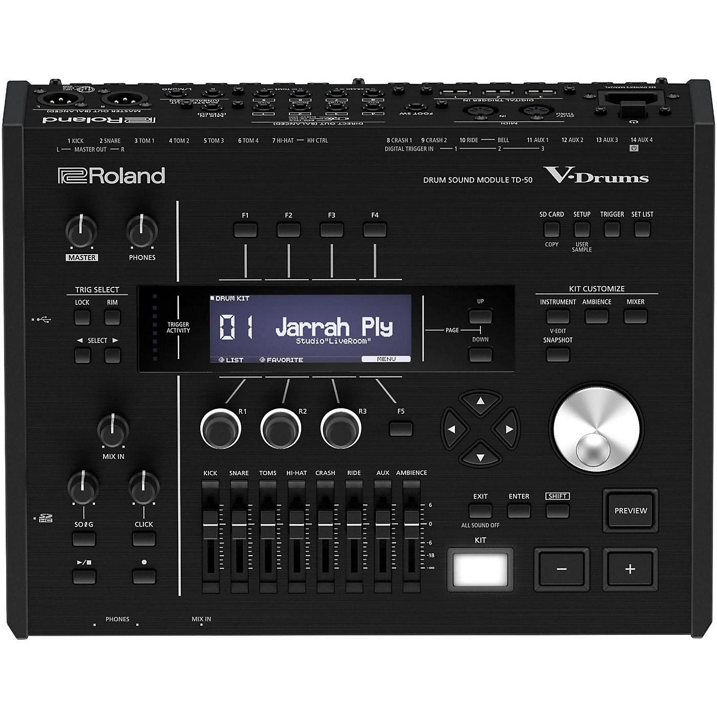 Roland TD-50 V-Drums Sound Module thumbnail