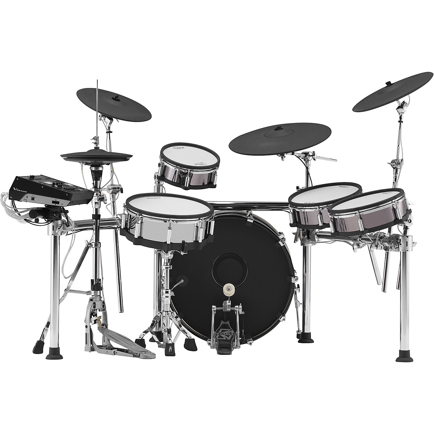Roland TD-50KVX V-Drums Electronic Drum Set with KD-220 Bass Drum thumbnail