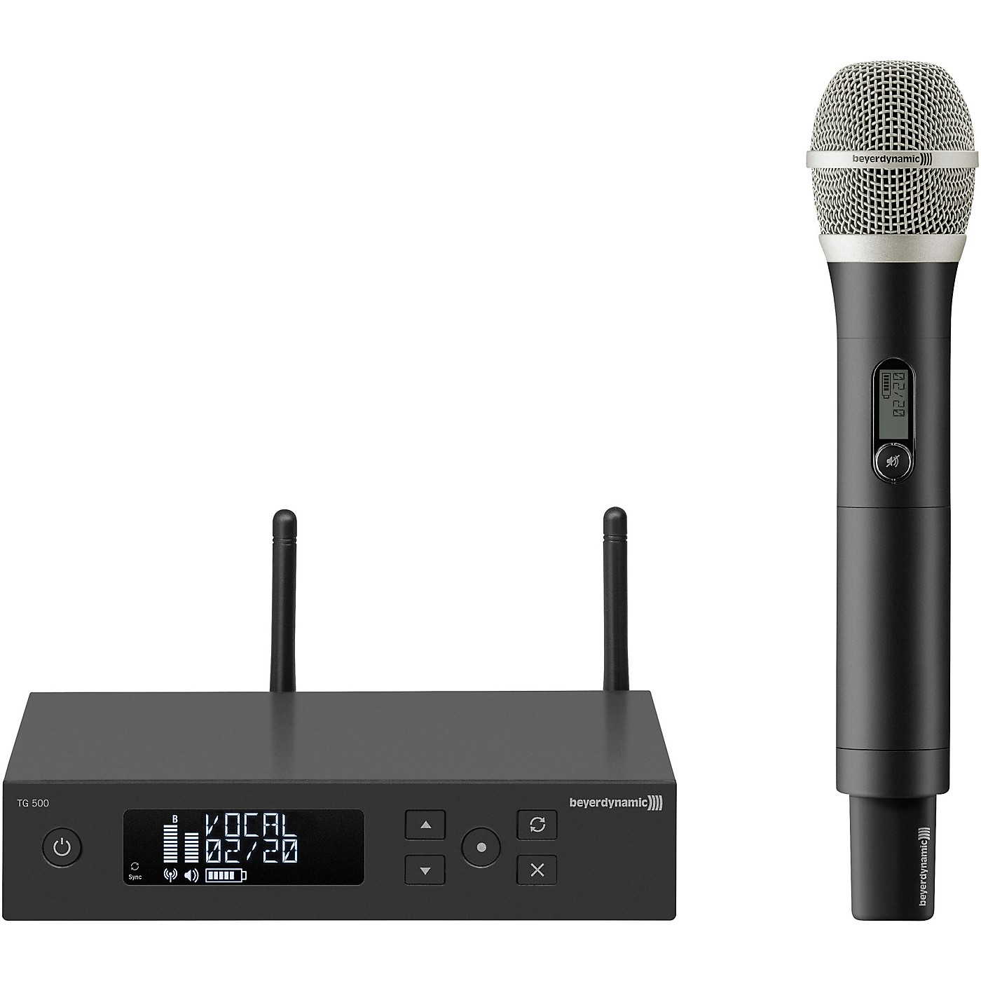Beyerdynamic TG 550 Wireless Dynamic Vocal Microphone Package thumbnail