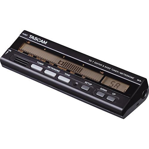 Tascam TG-7 Guitar and Bass Tuner/Metronome-thumbnail