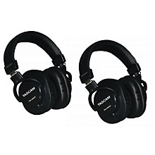 Tascam TH-200X Studio Headphones (2-Pack)