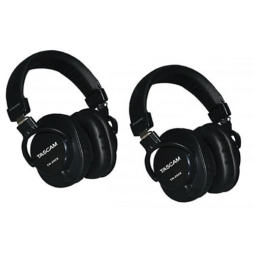 Tascam TH-200X Studio Headphones (2-Pack) thumbnail