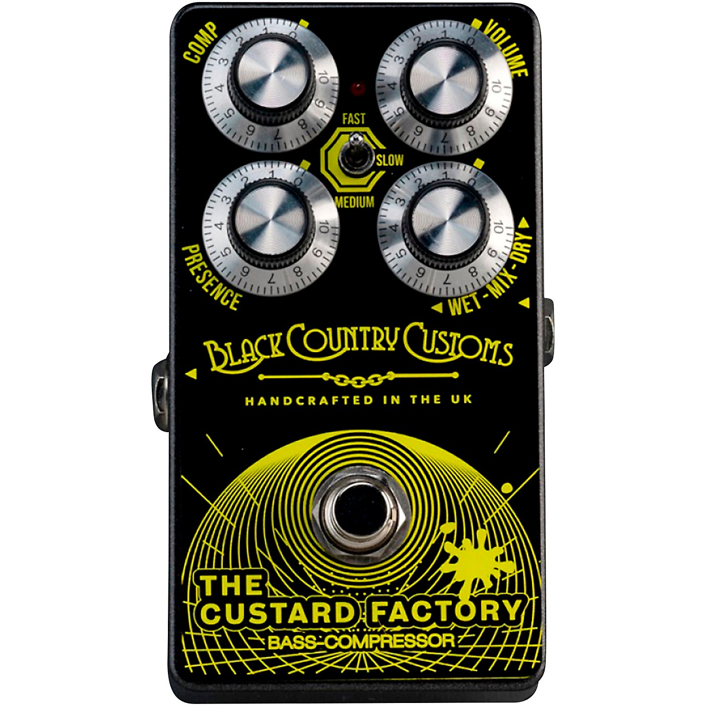Laney THE CUSTARD FACTORY Bass Compression Effects Pedal thumbnail