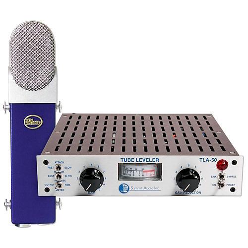 BLUE TLA-50 Tube Leveling Amplifier & Blueberry Condenser Microphone Kit-thumbnail