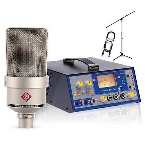 Neumann TLM 103 Nickel with Focusrite ISAOne Package thumbnail