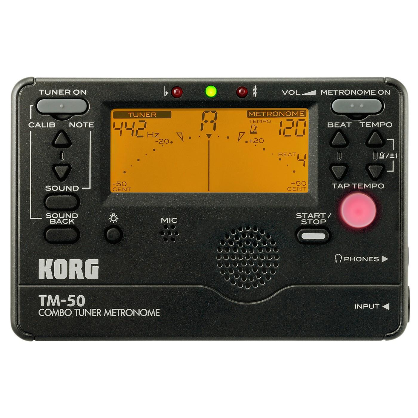 Korg TM-50 Combo Tuner/Metronome thumbnail