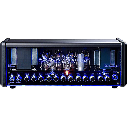 Hughes & Kettner TM36H Anniversary TubeMeister Tube Guitar Head with FREE FS2 Footswitch and Padded Bag thumbnail