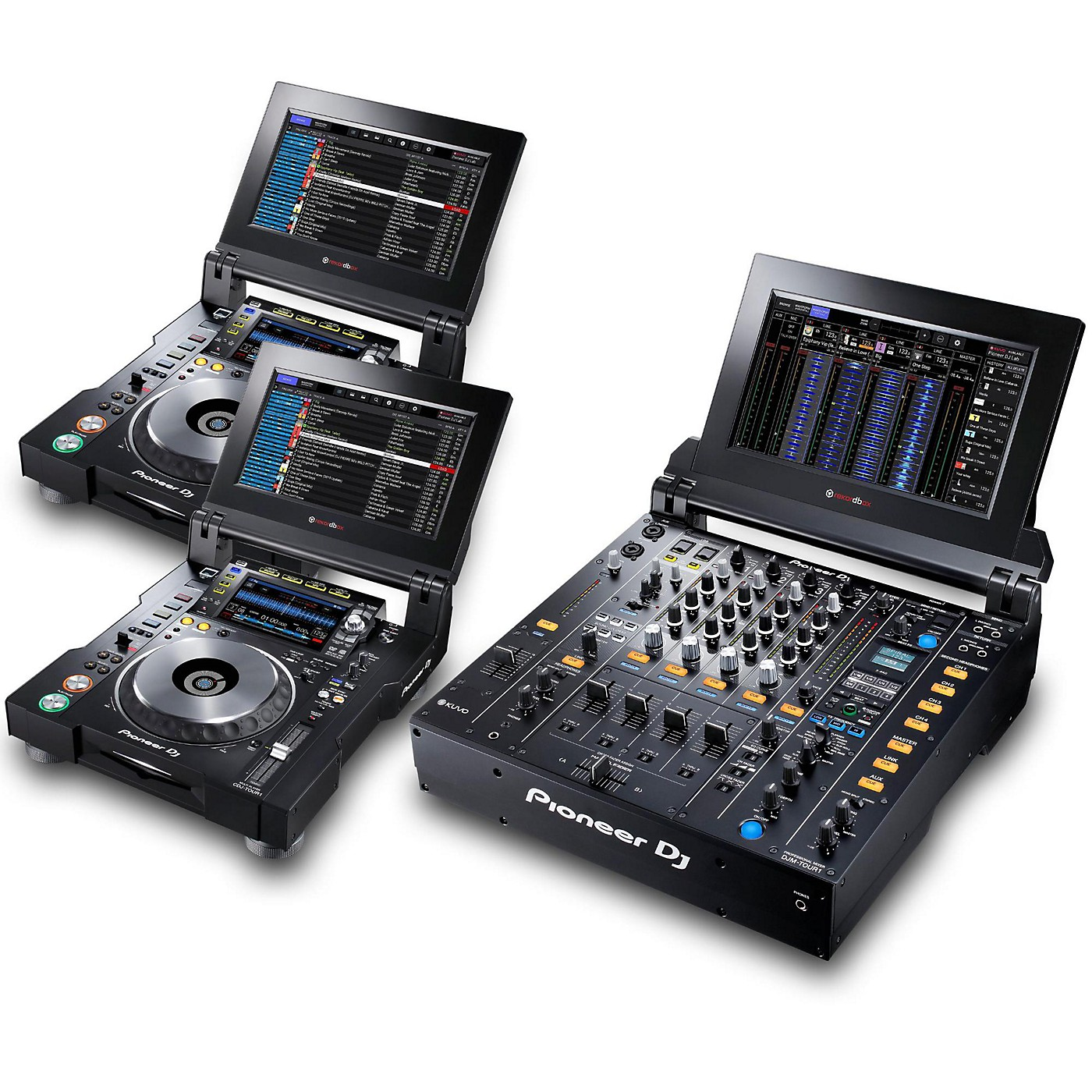 Pioneer TOUR System with 2 CDJ-TOUR1 Media Players thumbnail